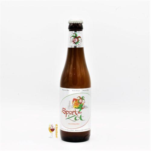 Biere Bouteille Blanche Sans Alcool Brasserie De Halve Maan Belge 33cl