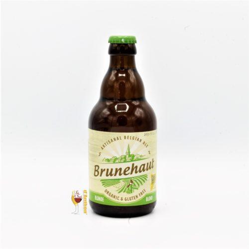 Biere Bouteille Blonde Brasserie Brunehaut Belge 33cl