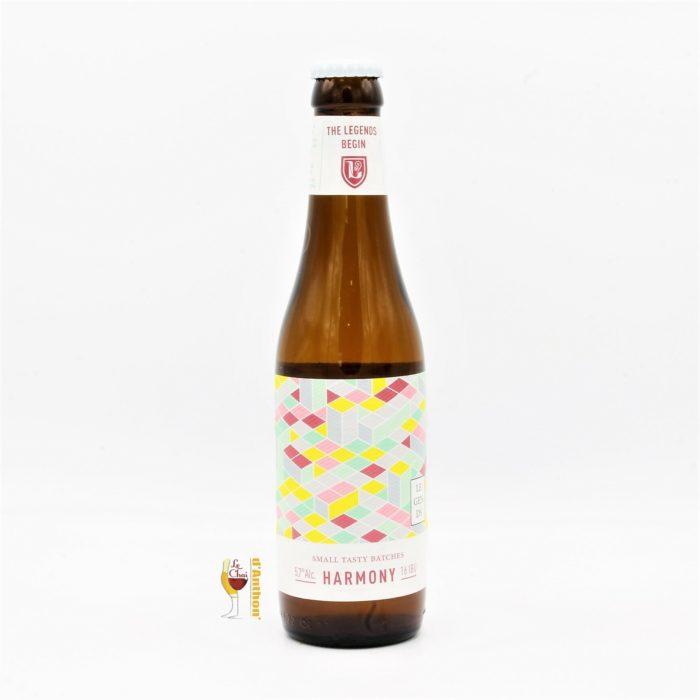 Biere Bouteille Blonde Brasserie Des Legendes Harmony Belge 33cl
