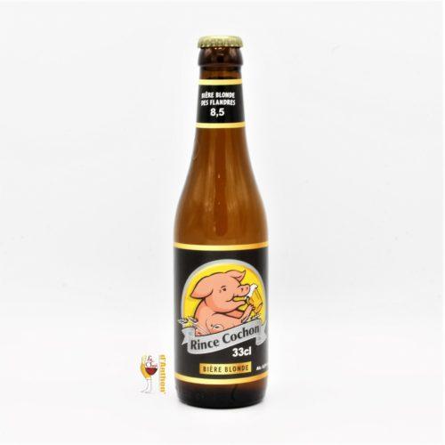 Biere Bouteille Blonde Brasserie Haacht Rince Cochon Belge 33cl