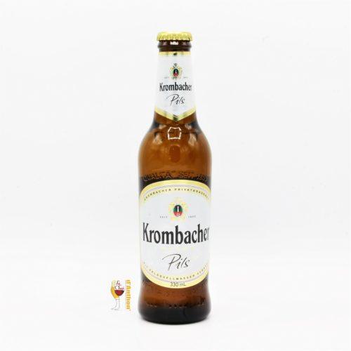 Biere Bouteille Blonde Brasserie Krombacher Pils 33cl