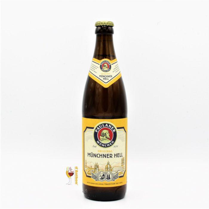 Biere Bouteille Blonde Brasserie Paulaner Muncher Hell Allemande 50cl