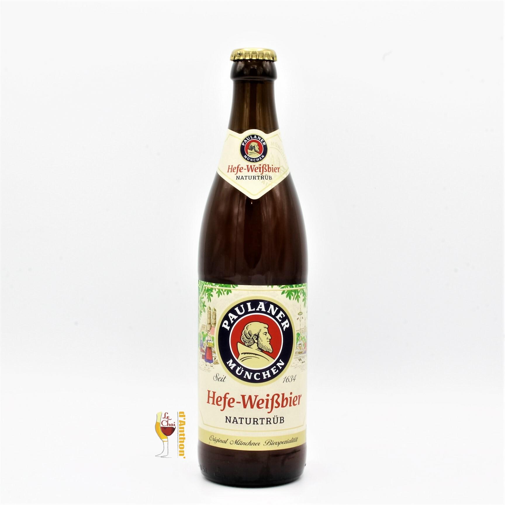 Biere Bouteille Blonde Brasserie Paulaner Weiss Hell Allemande 50cl