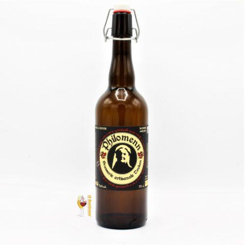 Biere Bouteille Blonde Brasserie Philomenn Bretonne 75cl