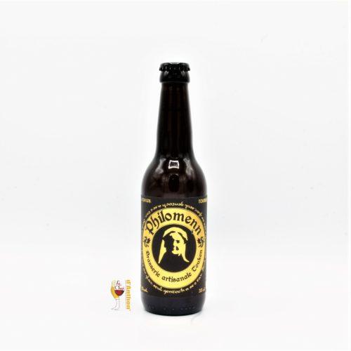Biere Bouteille Blonde Brasserie Philomenn Tourbee Bretonne 33cl