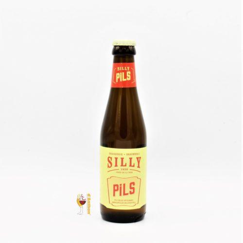 Biere Bouteille Blonde Brasserie Silly Pils Belge 25cl