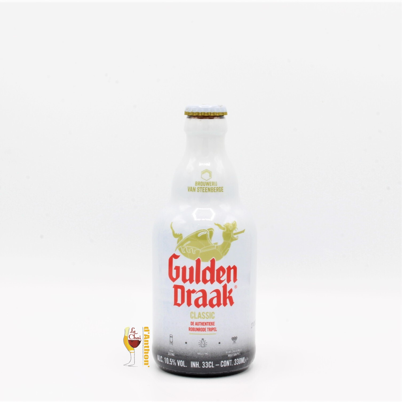 Biere Bouteille Brune Brasserie Van Steenberge Gulden Draak Belge 33cl