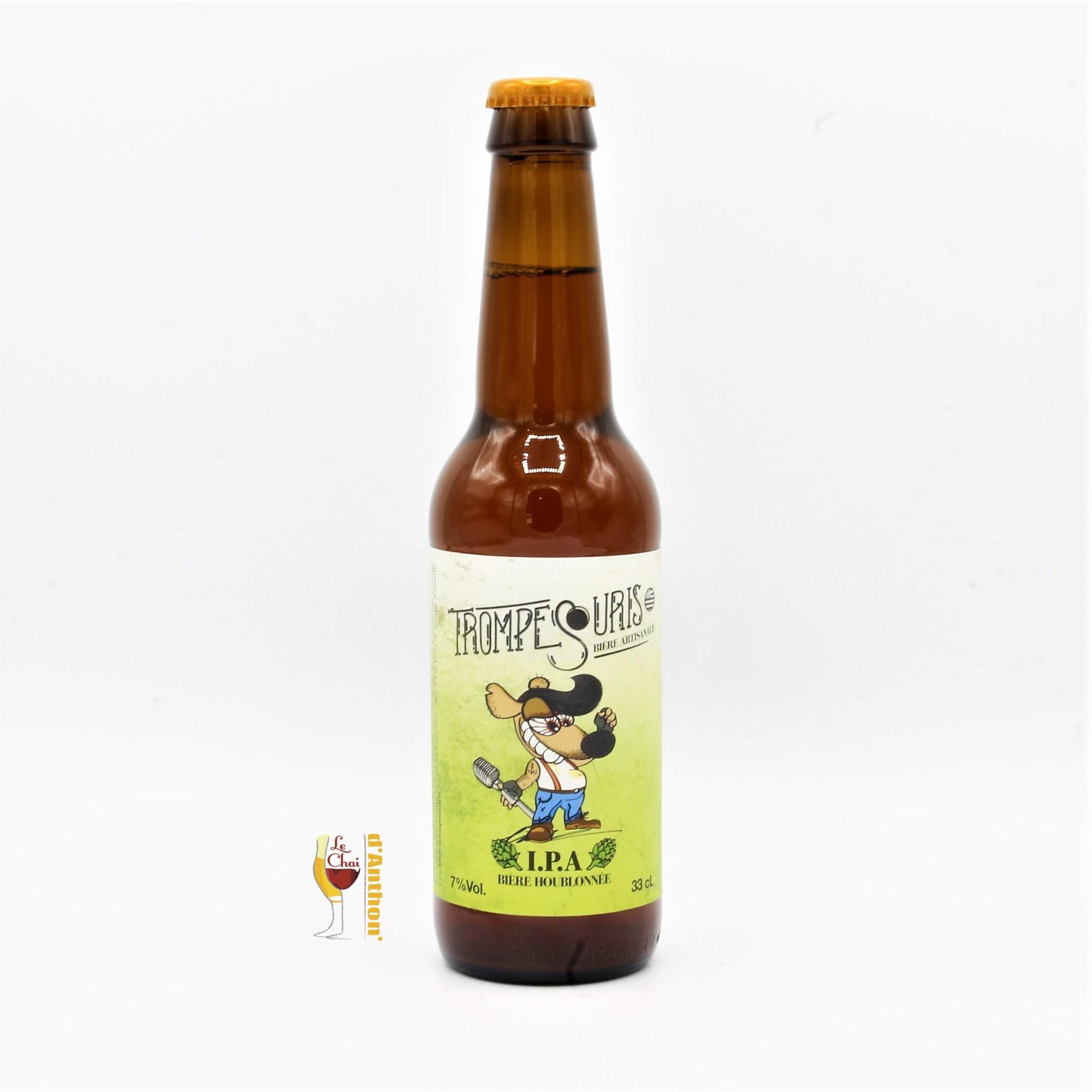 Biere Bouteille Ipa Brasserie La Divatte Bretonne 33cl