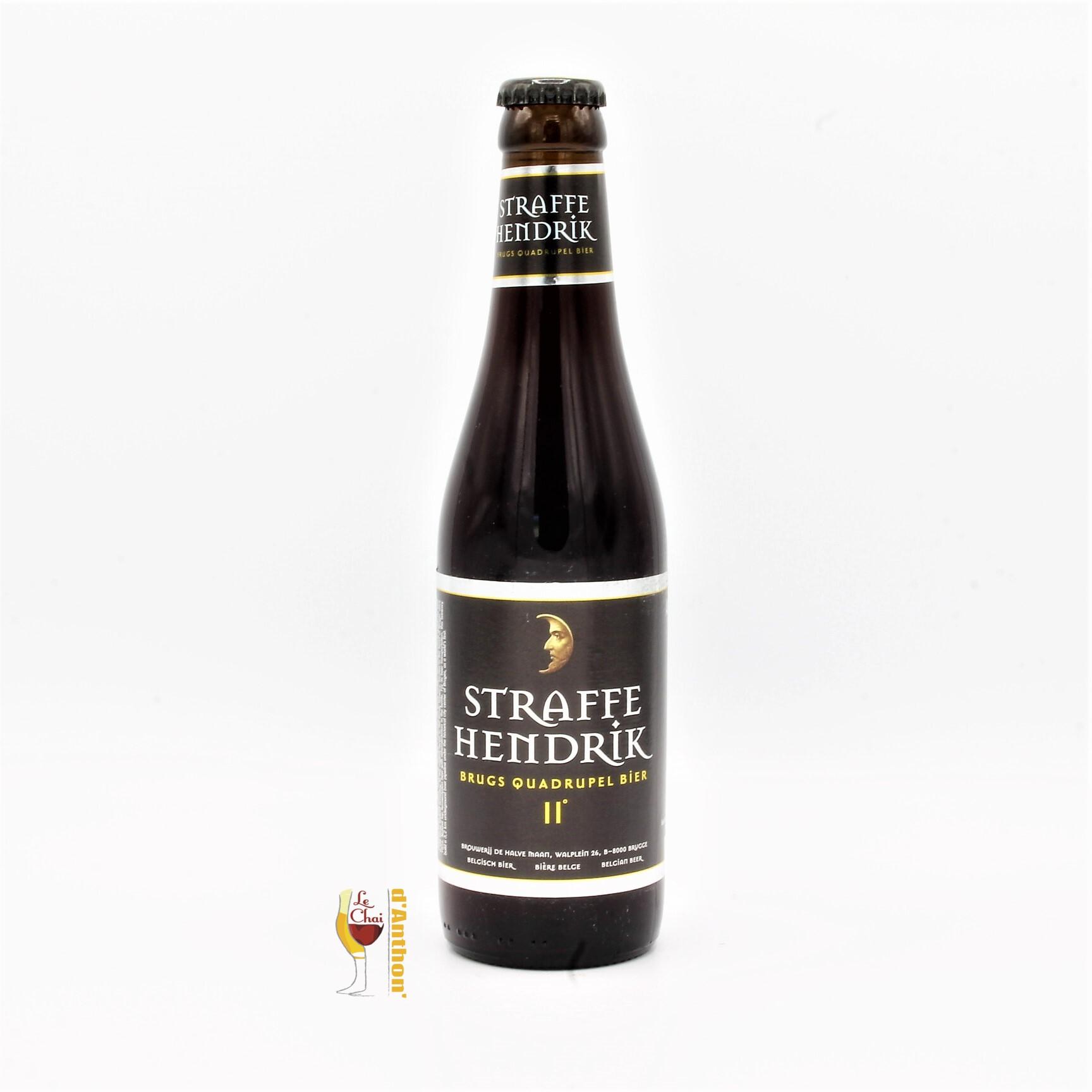Biere Bouteille Quadruple Brasserie De Halve Maan Belge 33cl