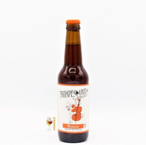Biere Bouteille Rousse Brasserie La Divatte Trompe Souris Bretonne 33cl
