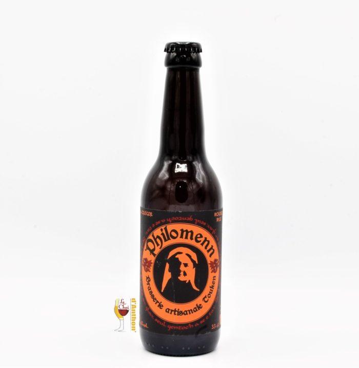 Biere Bouteille Rousse Brasserie Philomenn Bretonne 33cl
