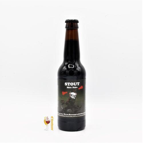 Biere Bouteille Stout C Est Brasse Pres De Chez Vous Hermine Bretonne 33cl