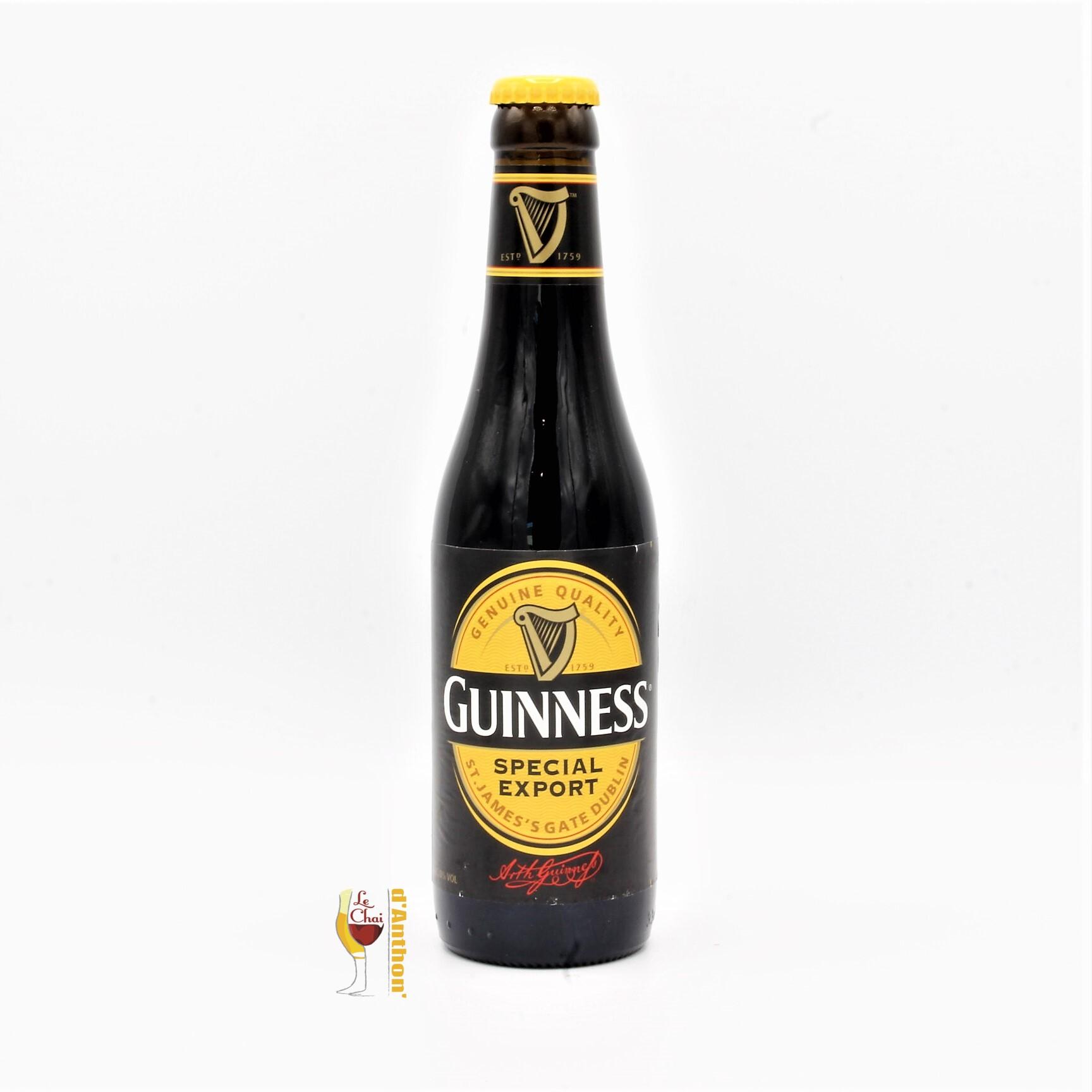Biere Bouteille Stout Guiness Export Irlandaise 33cl