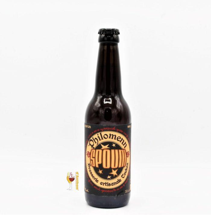 Biere Bouteille Triple Brasserie Philomenn Spoum Bretonne 33cl