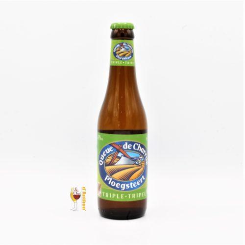 Biere Bouteille Triple Brasserie Queue De Charrue Belge 33cl
