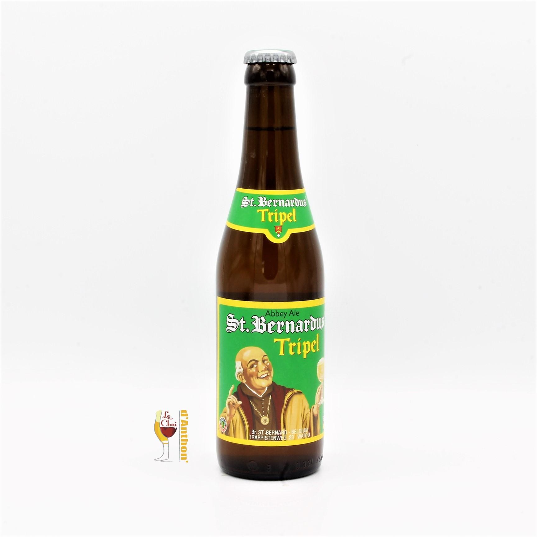 Biere Bouteille Triple Brasserie Saint Bernardus Belge 33cl