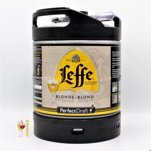 Biere Fut Perfect Draft Blonde Brasserie Artois Leffe Belge 6l