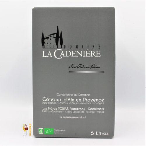 Vin Bib Cubis Fontaine A Vin Coteaux Aix Provence Leonie De La Cadeniere 5l