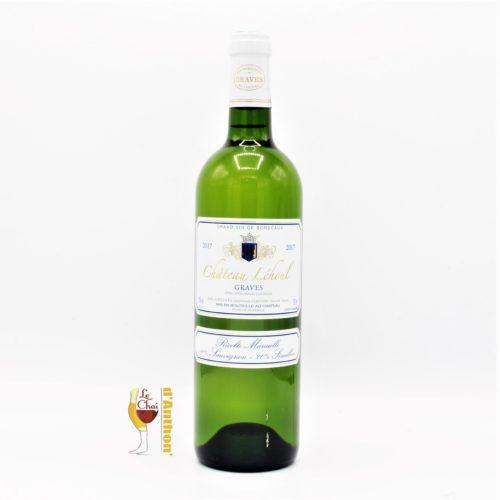 Vin Blanc Bouteille Bordeaux Graves Lehoul 75cl