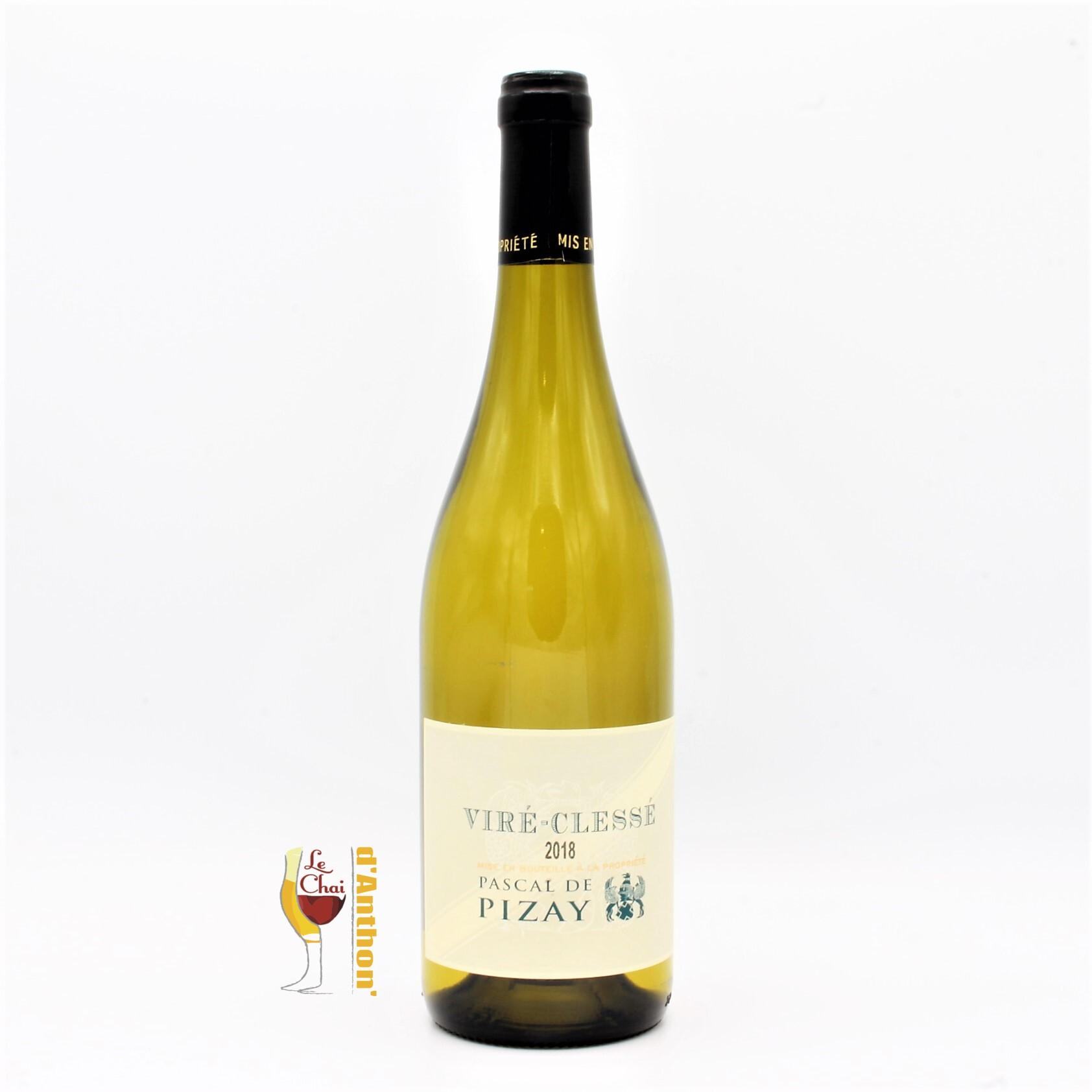 Vin Blanc Bouteille Bourgogne Pascal De Pizay 75cl