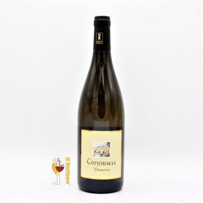 Vin Blanc Bouteille Condrieu Clerc 75cl