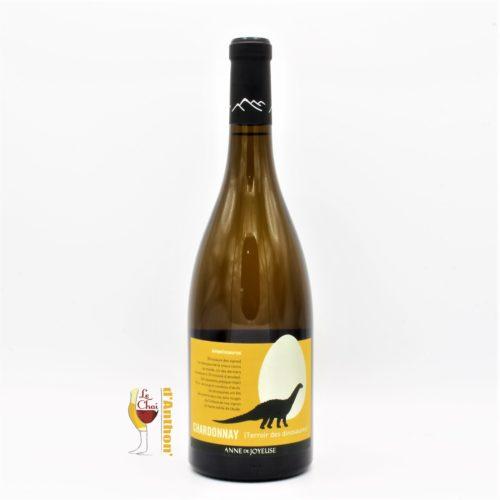 Vin Blanc Bouteille Languedoc Igp Pays Doc Ampelosaurus Chardonnay Anne De Joyeuse 75cl