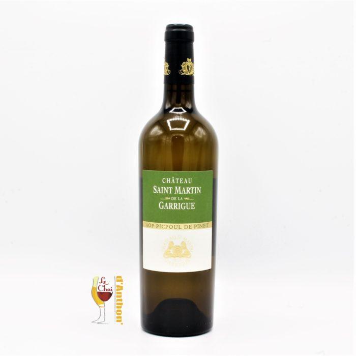 Vin Blanc Bouteille Languedoc Picpoul De Pinet St Martin De La Garrique 75cl