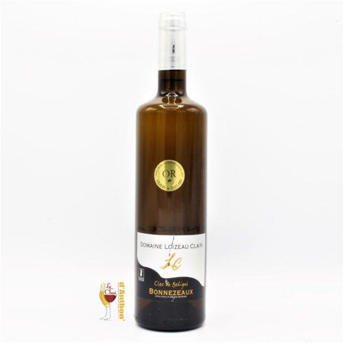 Vin Blanc Bouteille Loire Bonnezeaux Loizeau Clain 75cl