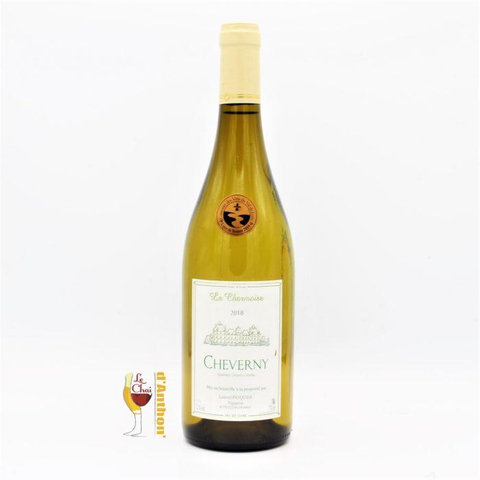 Vin Blanc Bouteille Loire Cheverny La Charmoise 75cl