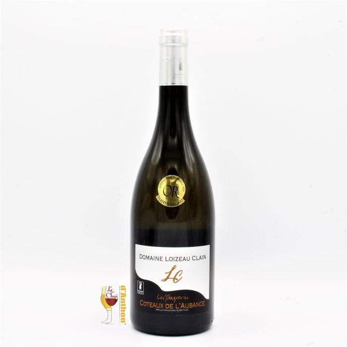 Vin Blanc Bouteille Loire Coteaux Aubance Loizeau Clain 75cl
