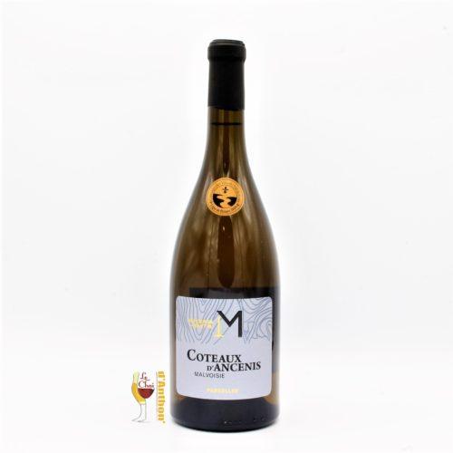 Vin Blanc Bouteille Loire Demi Sec Coteaux Ancenis Merceron Martin Malvoisie 75cl