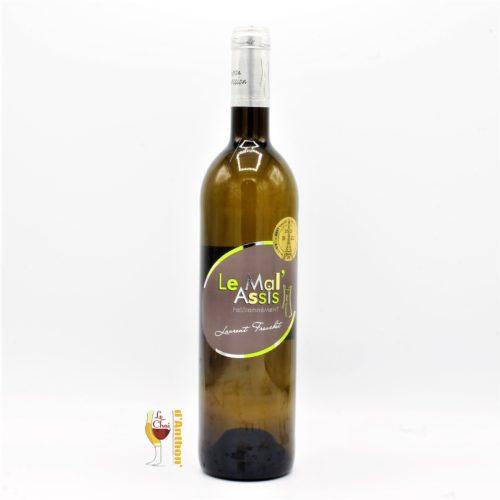 Vin Blanc Bouteille Loire Mal Assis Tourette Vdf 75cl