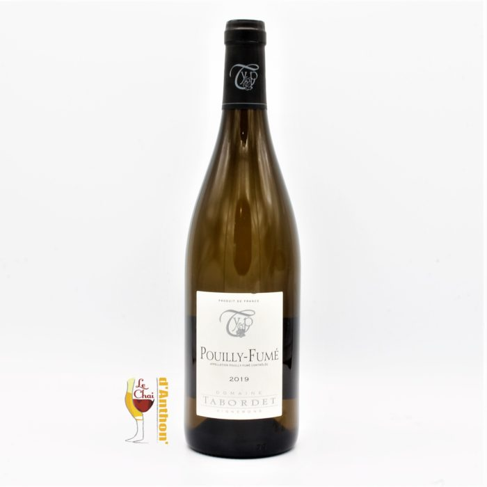 Vin Blanc Bouteille Loire Pouilly Fume Tabordet 75cl