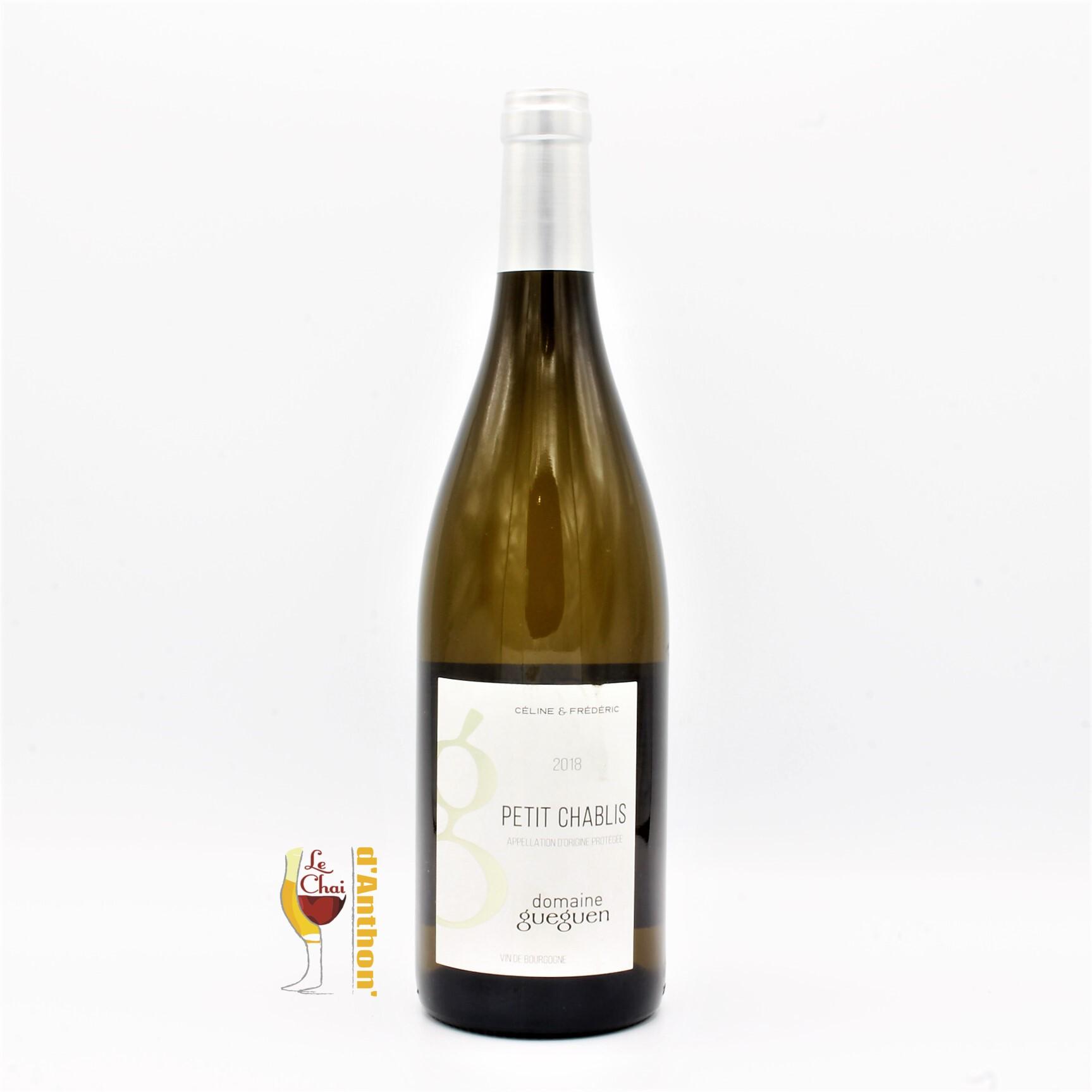 Vin Blanc Bouteille Petit Chablis Gueguen 75cl
