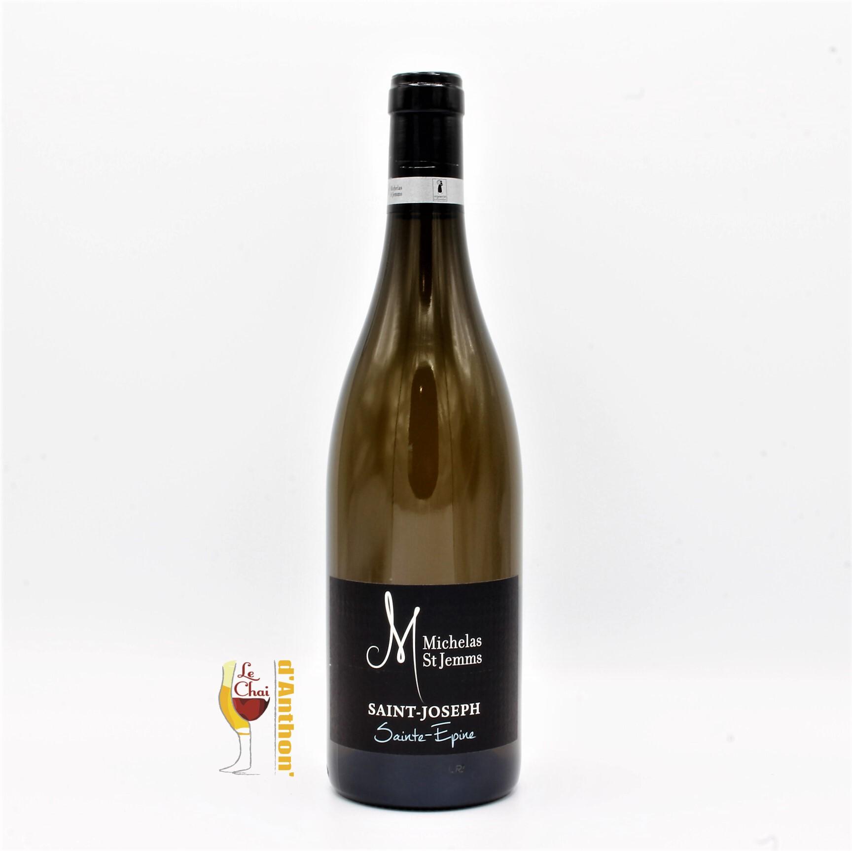 Vin Blanc Bouteille Rhone St Joseph Michelas St Jemms 75cl