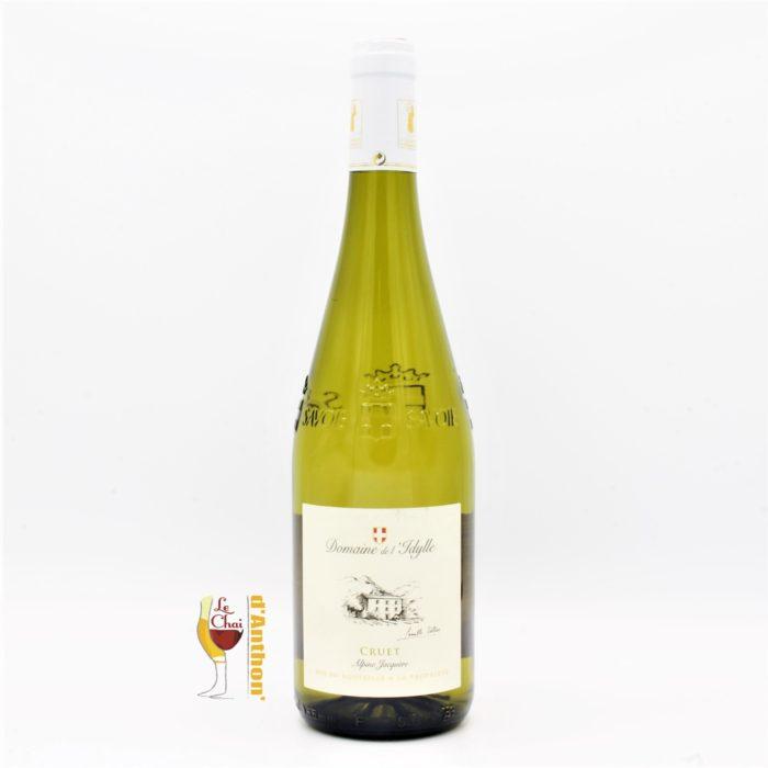 Vin Blanc Bouteille Savoie Cruet Idylle 75cl