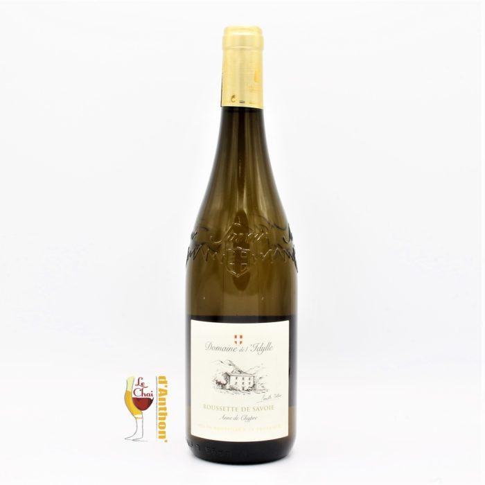 Vin Blanc Bouteille Savoie Rousette Idylle 75cl