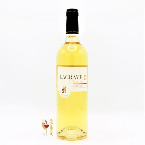 Vin Blanc Bouteille Sud Ouest Gaillac Doux Lagrave 75cl