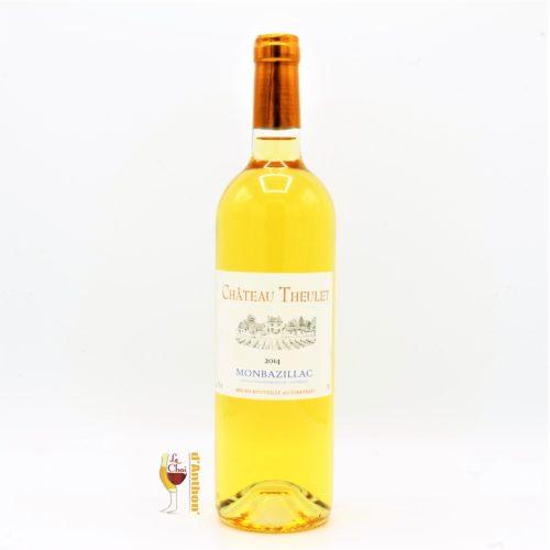 Vin Blanc Bouteille Sud Ouest Monbazillac Theulet 75cl