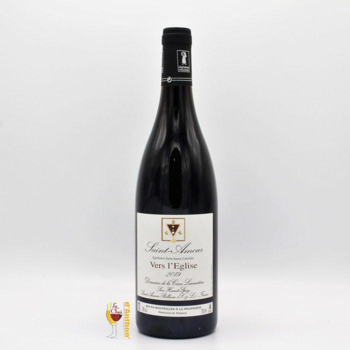 Vin Bouteille Rouge Beaujolais Saint Amour Cave Lamartine 75cl