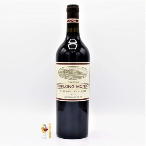 Vin Bouteille Rouge Bordeaux Emilion Grand Cru Troplong Mondot 2017 75cl