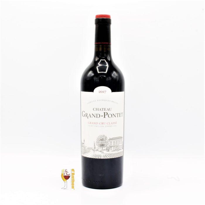 Vin Bouteille Rouge Bordeaux Emilion Grand Pontet 2017 75cl