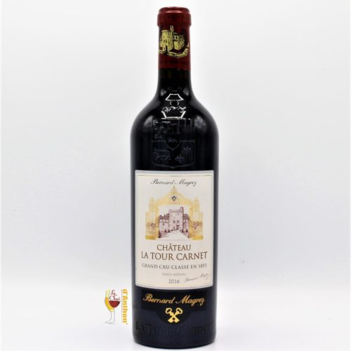 Vin Bouteille Rouge Bordeaux Haut Medoc La Tour Carnet 2016 75cl