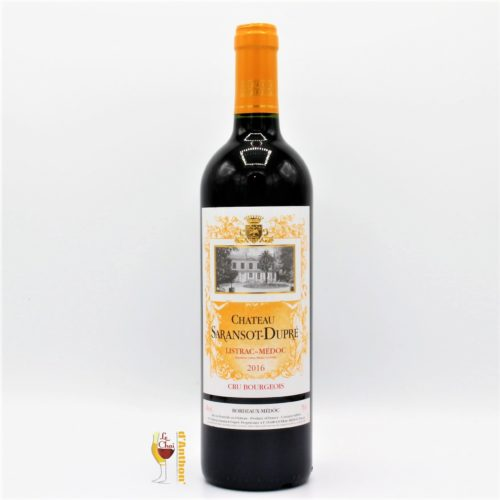 Vin Bouteille Rouge Bordeaux Listrac Medoc Saransot Dupre 75cl