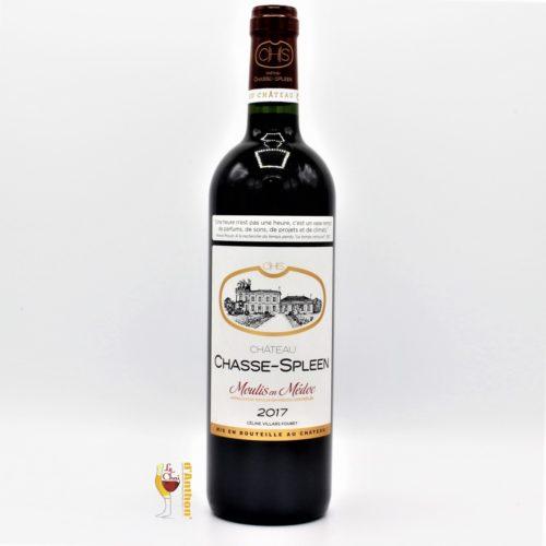 Vin Bouteille Rouge Bordeaux Moulis Chasse Spleen 2017 75cl