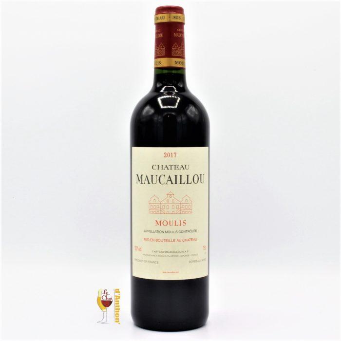Vin Bouteille Rouge Bordeaux Moulis Maucaillou 2017 75cl