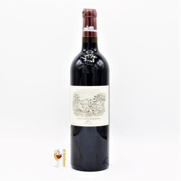 Vin Bouteille Rouge Bordeaux Pauillac 1er Grand Cru Classe Lafite Rothschild 2011 75cl