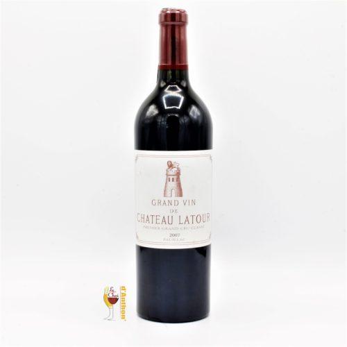 Vin Bouteille Rouge Bordeaux Pauillac 1er Grand Cru Classe Latour 2007 75cl