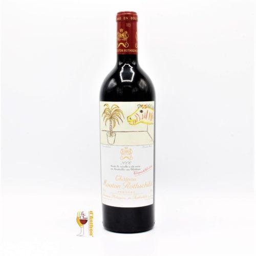 Vin Bouteille Rouge Bordeaux Pauillac 1er Grand Cru Classe Mouton Rothschild 2006 75cl
