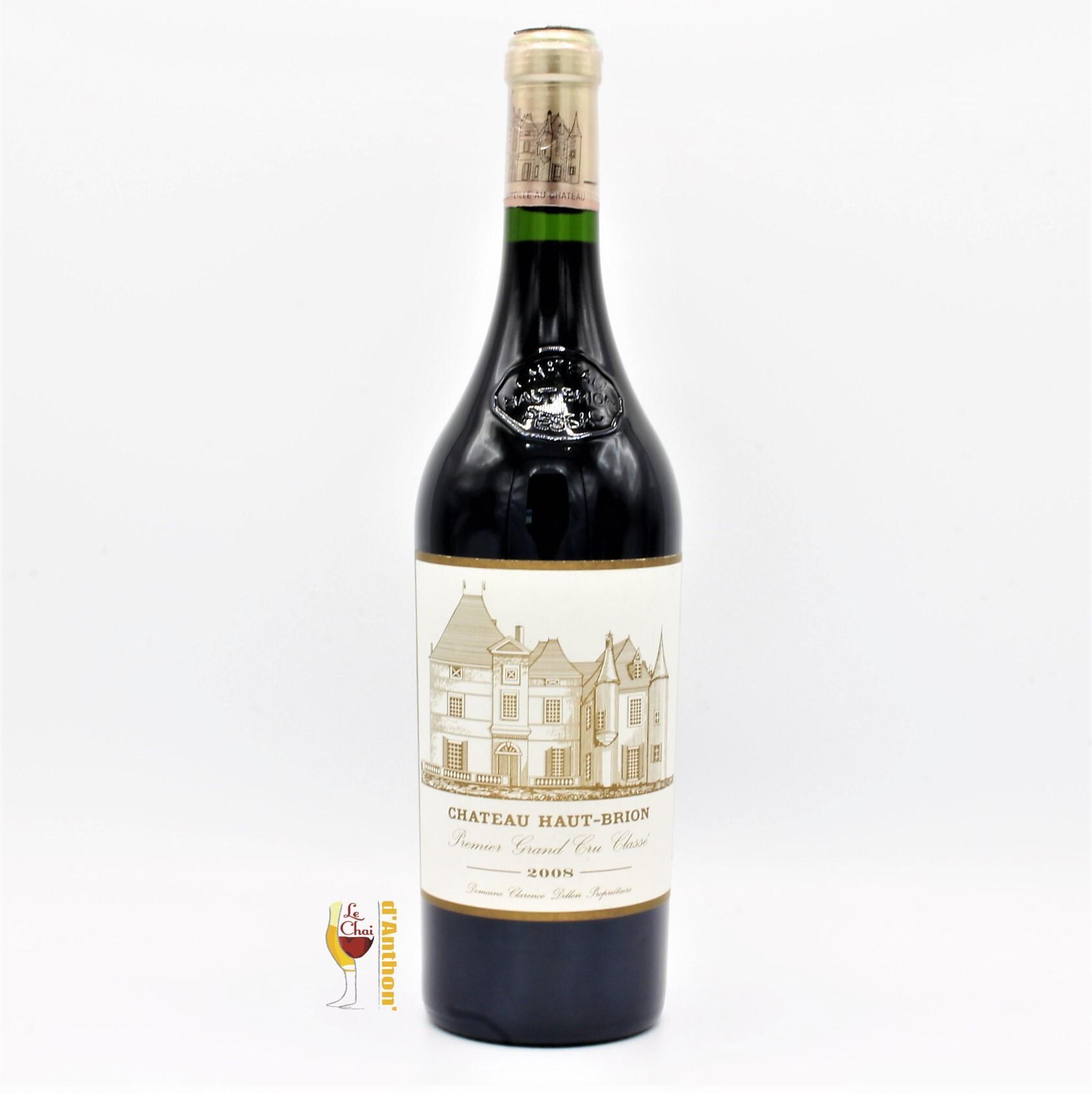 Vin Bouteille Rouge Bordeaux Pessac Leognan Cru Classe Haut Brion 2008 75cl